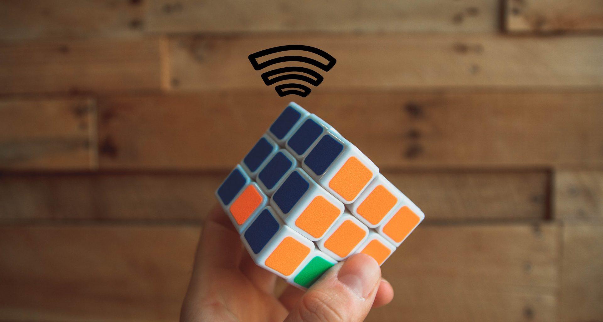 cnctdwifi rubix cube
